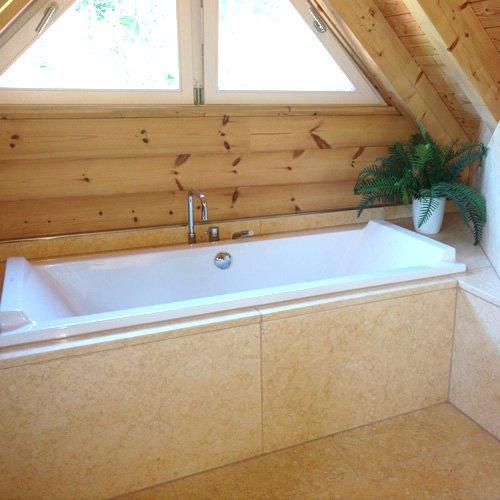 Kalkstein Badezimmer
