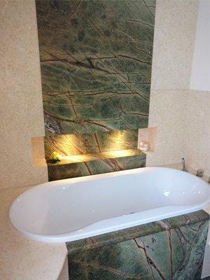 Marmor Granit Badezimmer