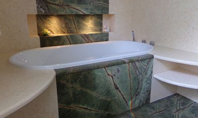 Marmor Granit Wandverkleidung Badezimmer