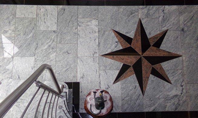 Marmor Fußboden