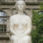 Marmor Statue nachher